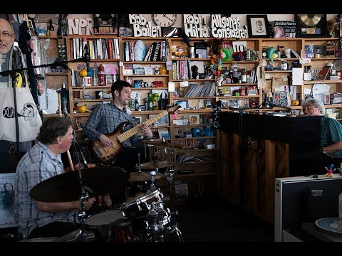 I'm the guy playing bass. From NPR's Tiny Desk Concert Series.