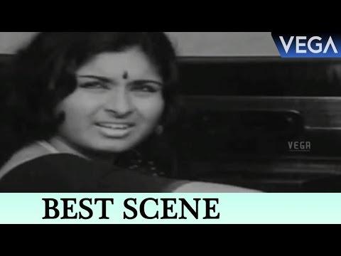 Vidhubala Meets Kamal Hassan At Petrol Bunk || Kaathirunna Nimisham Movie Scenes