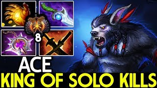 ACE [Ursa] King of Solo Kills Carry Cancer Game 7.21 Dota 2