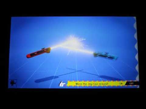 Lightsabers de Nintendo Labo