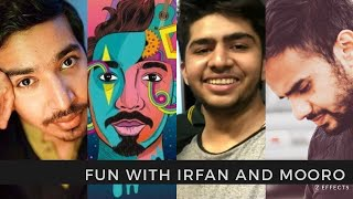 Vlogging With Mooroo And Irfan Junejo