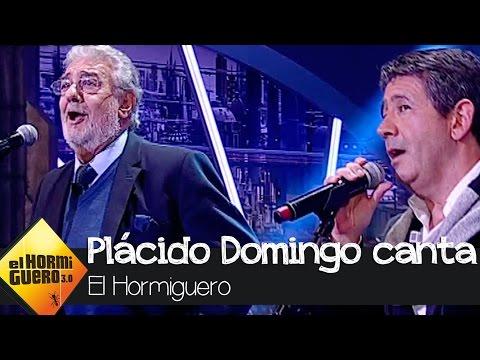 Plácido Domingo canta en directo junto a su hijo - El Hormiguero 3.0