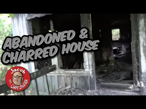 Abandoned and Charred House