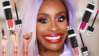 DIOR Lip Lacquer Plump: Ooooooh LAWD!  | Jackie Aina - Video Youtube