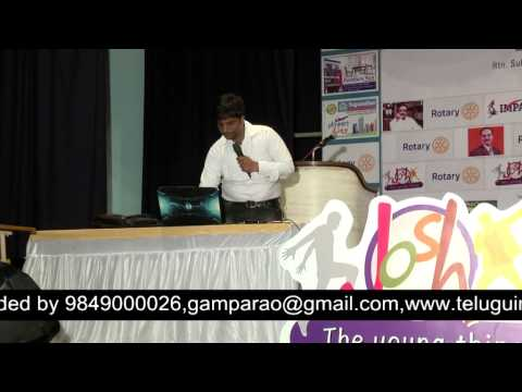 Career Guidance| Sai Satish | TELUGU IMPACT Vijayawada 2014