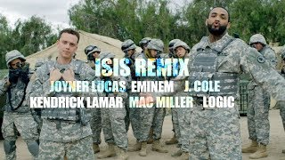 Joyner Lucas x Mac Miller x J Cole x Kendrick Lamar x Logic x Eminem - ISIS Remix