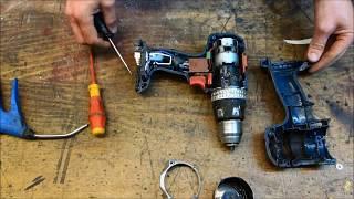 DIY Bosch Akkuschrauber GSR 18V-2 LI Professional Motor tauschen Anleitung drill motor repair