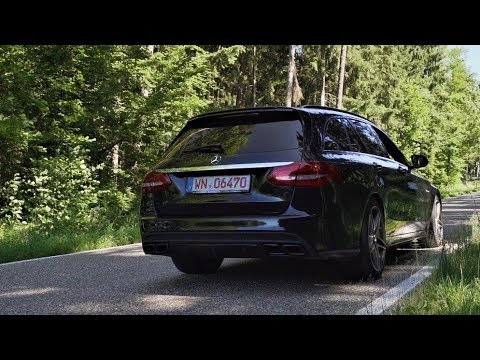 Mercedes-AMG C63 T-Modell - Pure Sound