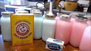 DIY, Making Your Own Laundry Soap