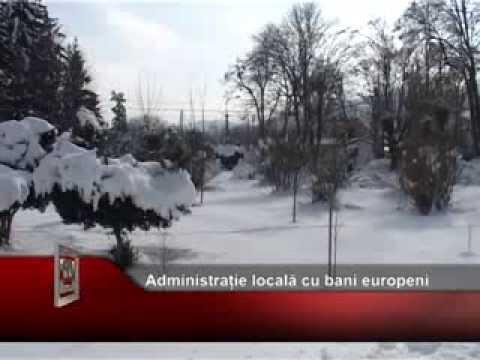 Administrație locală cu bani europeni