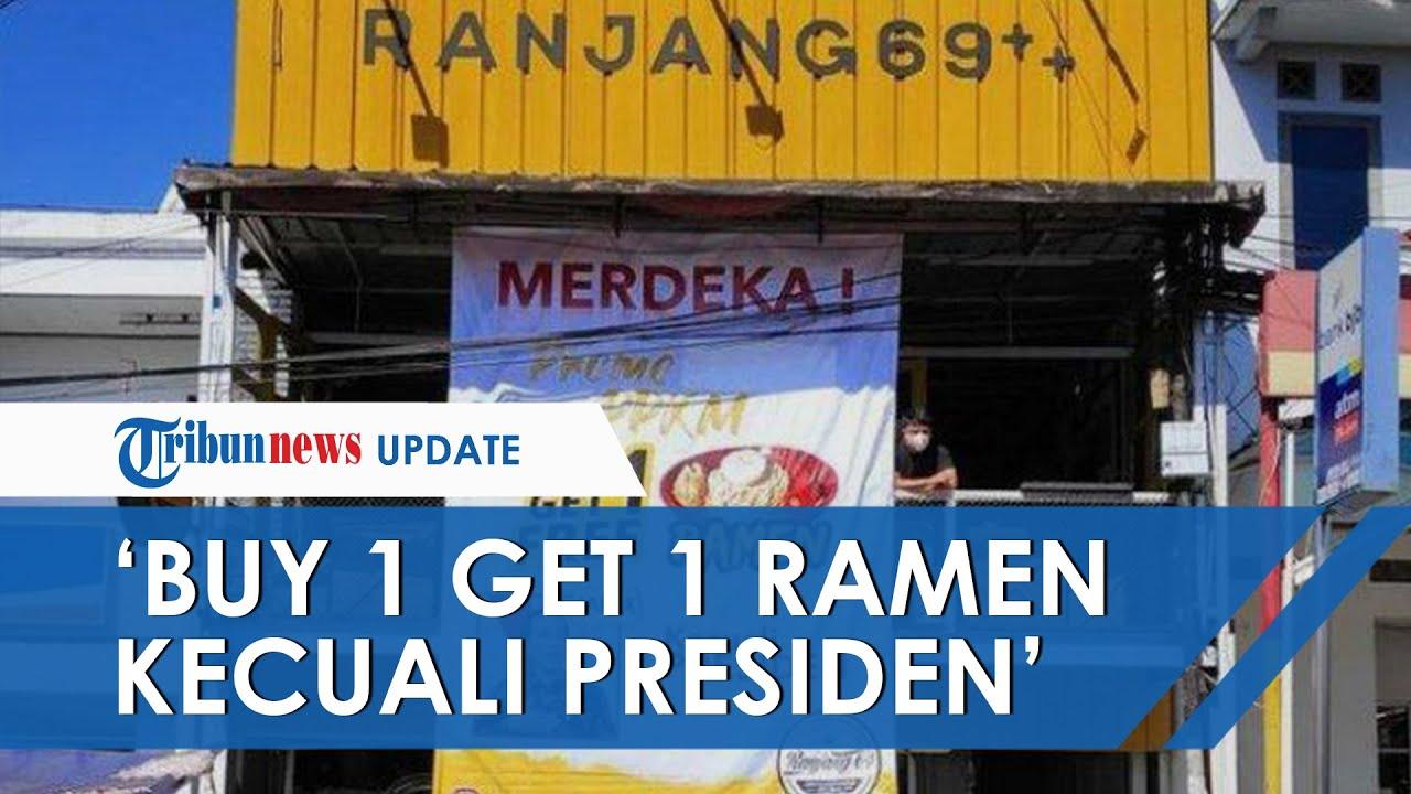 Gara-gara Pasang Baliho 'Buy 1 Get 1 Ramen Kecuali Presiden', Pria di Garut Dipanggil Polisi