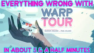 """Everything Wrong With Steven Universe's """"Warp Tour"""" In About 5 & A Half Minutes"""