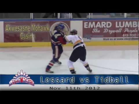 Francis Lessard vs. Curtis Tidball
