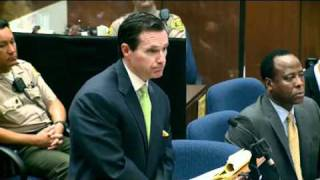 Conrad Murray Trial   Day 2, Part 1