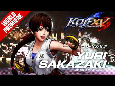 The King of Fighters XV : YURI SAKAZAKI - Character Trailer #9 (4K)