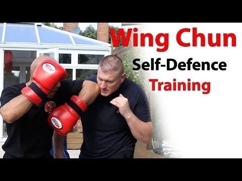 wing chun self defence training