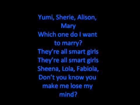 Weezer-SMART GIRLS (LYRICS)