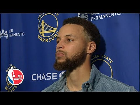 Stephen Curry on Warriors' woes '2 games is not going to deflate you'   NBA on ESPN
