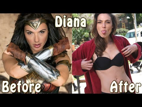 Wonder Woman Cast ★ Before And After
