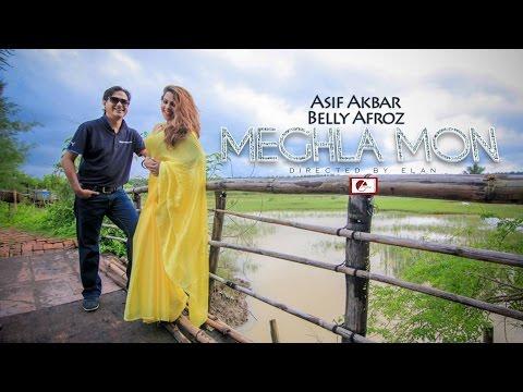 Meghla Mon | Asif Akbar & Belly