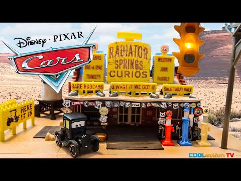 Lizzie's Radiator Springs Curios New 2018 Cars Mattel Precision Series Play Set