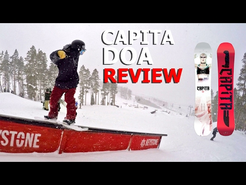 Capita Defenders of Awesome Snowboard Review