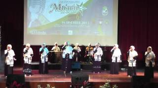 Wardatuddiniah   Show Penutup Bintang Nasyid Mu'min Kebangsaan 2013