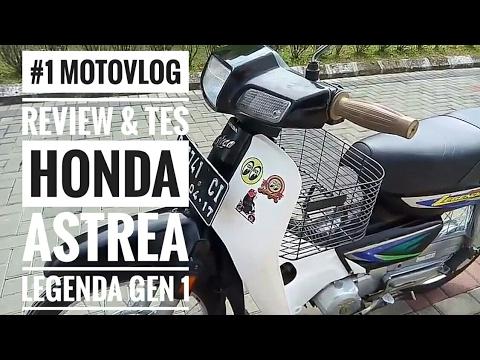 Video Review & Test Ride Honda Legenda Gen 1 #MVLOG