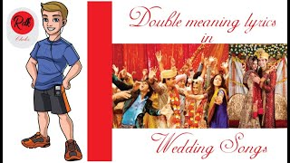 Double Meaning Lyrics in Wedding Songs