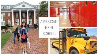 Экскурсия по американской школе | American High School