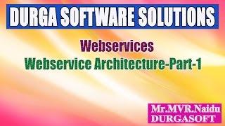 Webservices-Webservice Architecture-Part 1