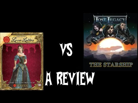 BGBC S1E31: Love Letter vs. Lost Legacy: Starship Comparison/Review