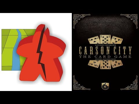The Broken Meeple - Carson City: The Card Game Review