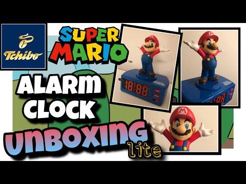 Super Mario Alarm Clock von Tchibo Unboxing Lite