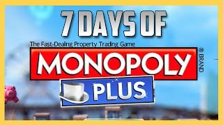 Monopoly Week Starts January 1st! Seven Days Of Monopoly Live!
