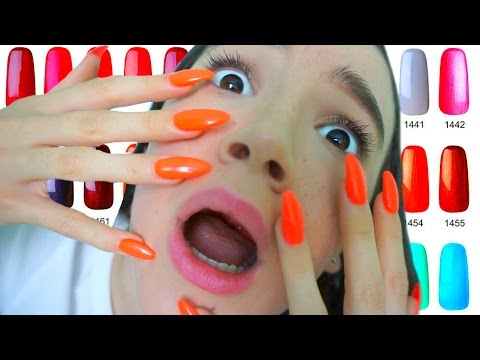 TEEN Wears LONG Acrylic Nails (First Time)… FionaFrills