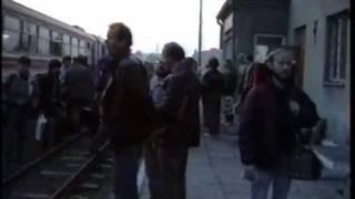 preview picture of video 'Świętokrzyska Kolejka Dojazdowa - pociąg specjalny 1994'
