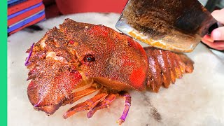 STRANGE Seafood in Hong Kong!! RARE Seafood Tour from Fish Balls to Fish Stalls!!