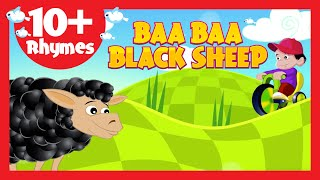 Baa Baa Black Sheep (10+ Rhymes) - Kids Poems In English