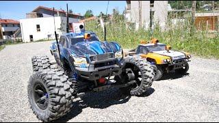 RC CAR TRAXXAS X-MAXX - FPV LONG RANGE - LAC CONFINS 2 - LA CLUSAZ