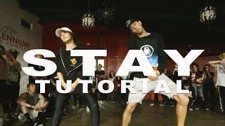 """STAY"" - Zedd ft Alessia Cara Dance TUTORIAL | @MattSteffanina Choreography"