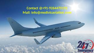 Low-Fare Air Ambulance Service in Dibrugarh and Bagdogra by Medivic Aviatio