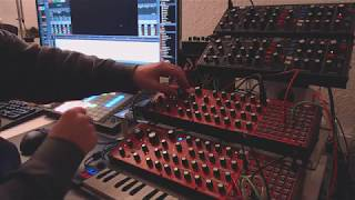 Behringer Neutron: Mini Dub Techno Jam (Poly Chain Test)