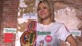 Miki Sudo sets women's record, wins seventh Nathan's Hot Dog Eating Contest   ESPN