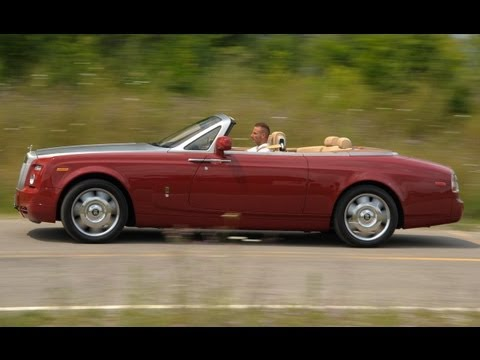 2010 Rolls-Royce Phantom Drophead Coupe Road Test