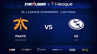 Fnatic vs EG, StarSeries 13 LAN-Final, Day 2