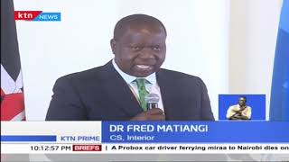CSs Matiang'i and Tobiko launch campaign in a bid to increase forest cover to 10%  by 2022