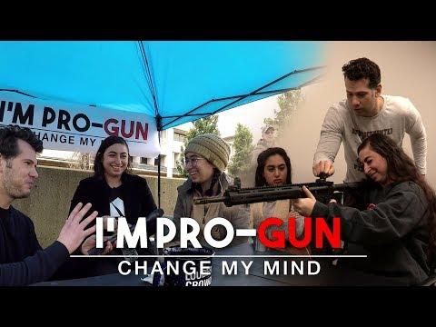 REAL CONVERSATIONS: First Time Gun Buyer! | Change My Mind