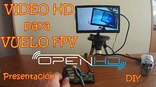 - PRESENTACIÓN - Video HD para Vuelo FPV - DIY