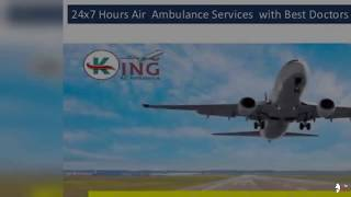 Best Air Ambulance services in Dimapur with Medical Facility King Air